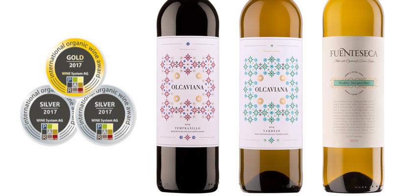 Olcaviana y Fuenteseca, premiados en el Concurso Internacional de Vinos Ecológicos
