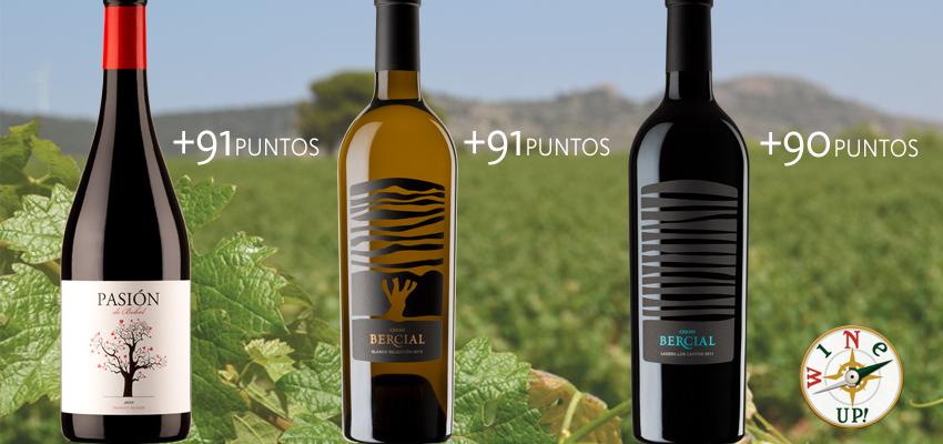 ¡Tres oros en la Guía Wine Up 2018: Pasión de Bobal y Cerro Bercial!