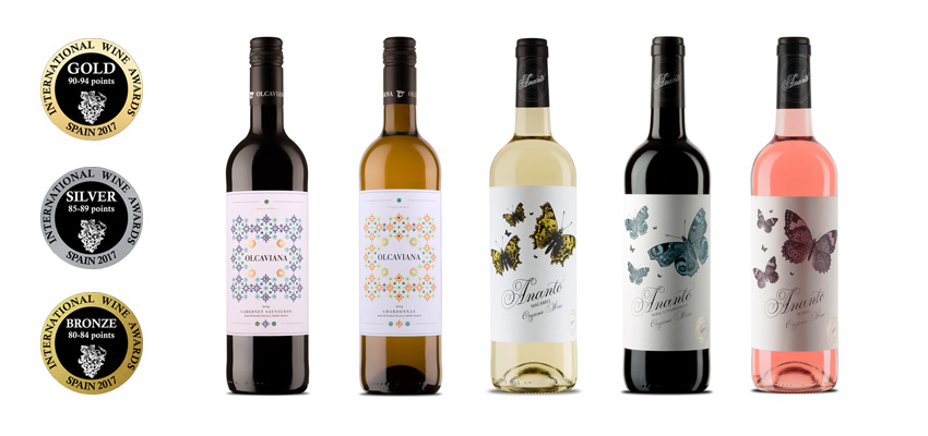 14 medallas para Sierra Norte en los International Wine Awards