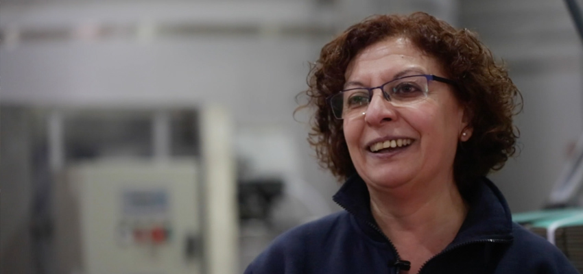 Video | We introduce you to Pili, the last link in the bottling line