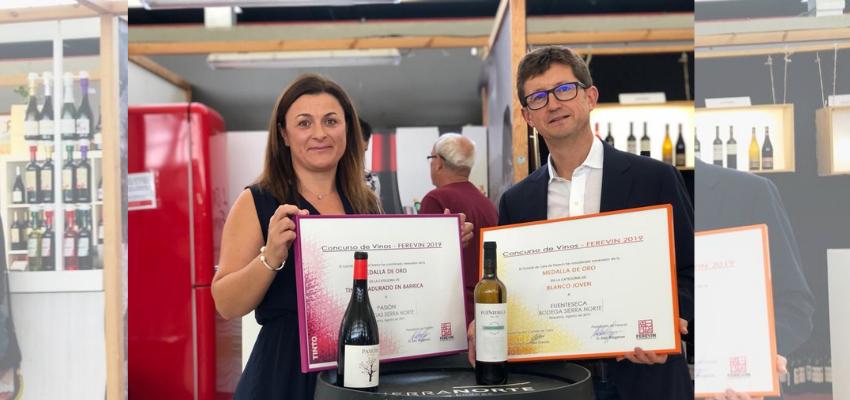 Os invitamos a catar en FEREVIN nuestros vinos premiados, Pasión de Bobal y Fuenteseca blanco