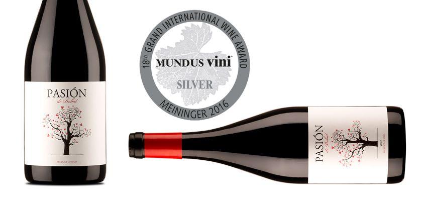 Pasión de Bobal, medalla de plata en el Gran Premio Internacional Mundus Vini