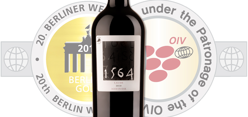 '1564 Laude', Medalla de Oro en Berliner Wein Trophy