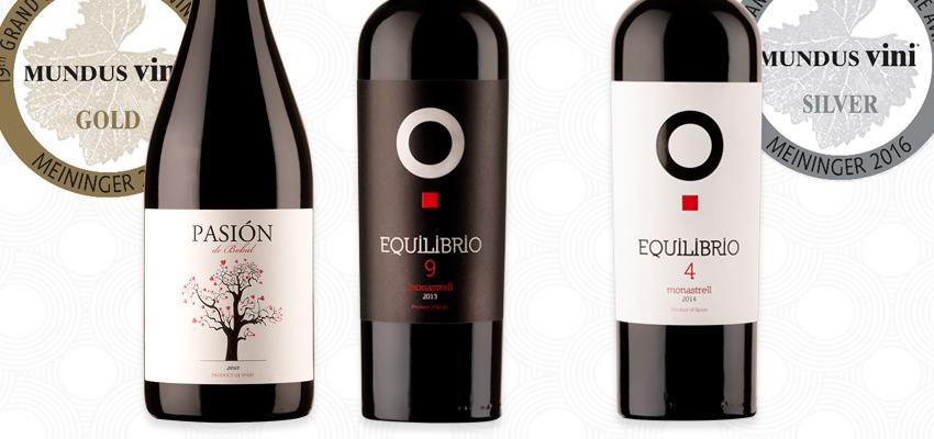 El sabor Mediterráneo de nuestros vinos sigue acaparando medallas