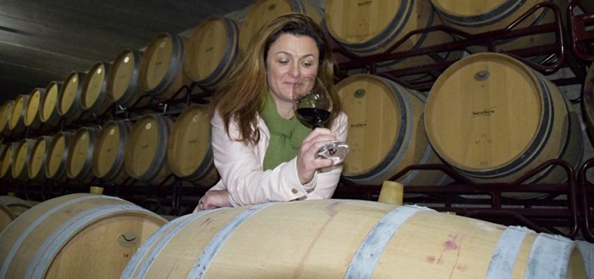Interview with Mapi Domingo, an oenologist at Bodega Sierra Norte