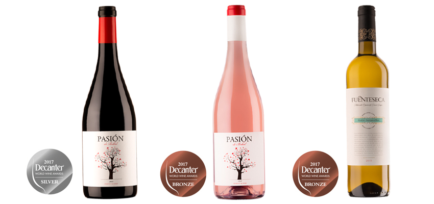 The Decanter World Wine Awards reward us with three medals