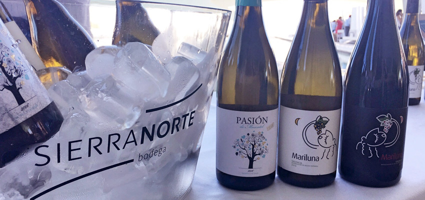 Pasión de Moscatel & Mariluna, at the Wine Night of the Valencia DOP