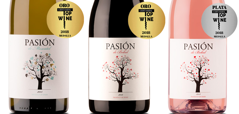 Our Pasiones sweep TopWine 2018 ☺