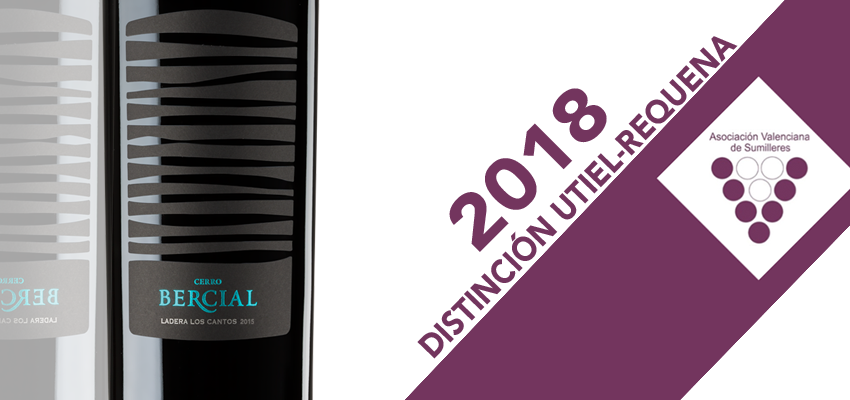 Cerro Bercial Ladera Los Cantos, one of the best red wines in Utiel-Requena, according to ASVASU