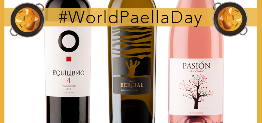 #WorldPaellaDay: the 3 best wines to pair with the paella
