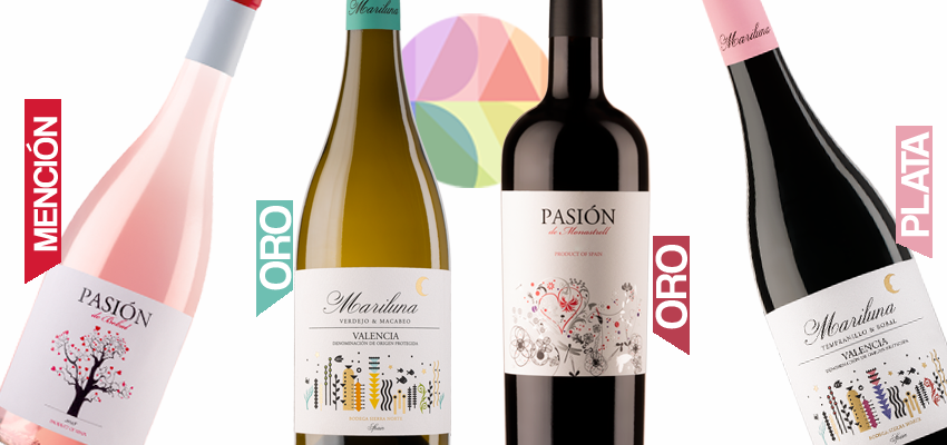 Two golds at the Proava awards for Mariluna and Pasión de Monastrell