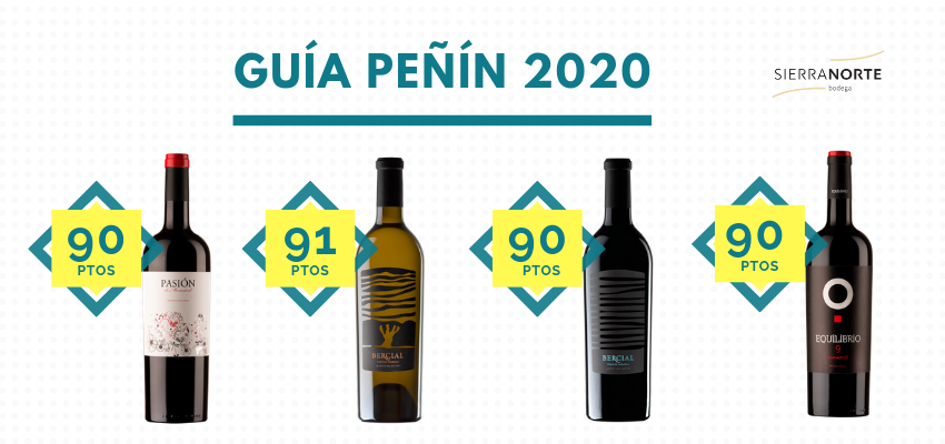 Penin Guide qualifies our wines as excellent for their value for money