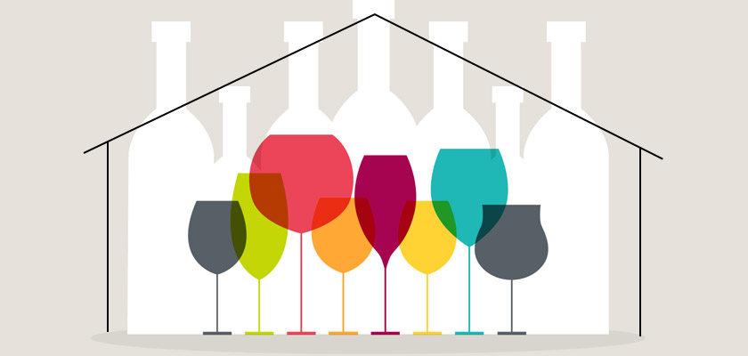 Does the Covid-19 have you bored at home? We propose you organize a homemade wine tasting (with downloadable file)