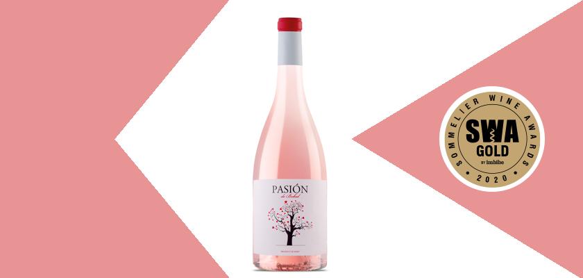 Pasión de Bobal rosado, oro en los Sommelier Wine Awards, de gran prestigio en Reino Unido y EEUU