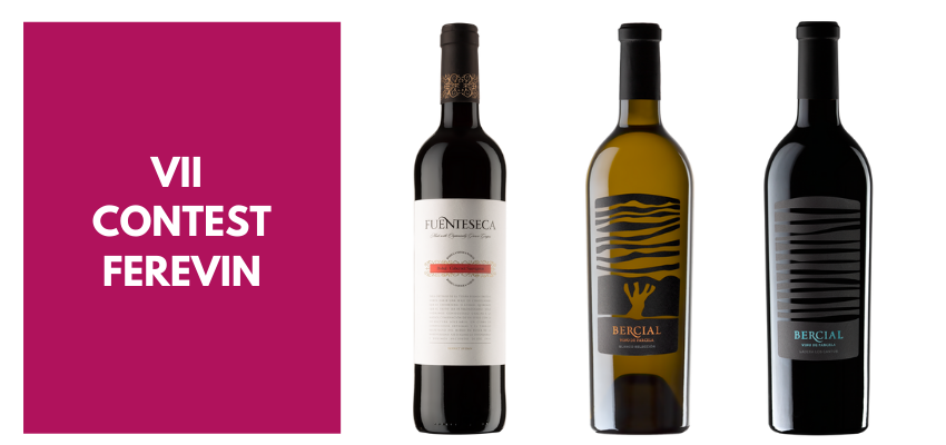 Three of our wines, awarded gold medals at the 7th FereVin Wine Competition