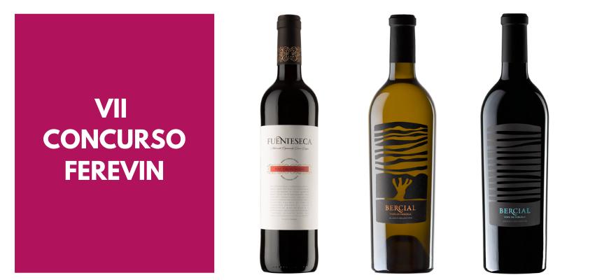 Tres de nuestros vinos, premiados con medalla de oro en el VII Concurso de Vinos FereVin