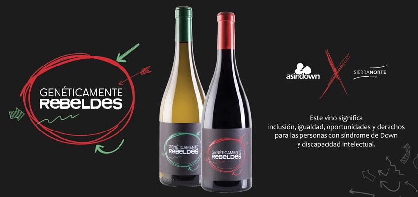 'Genéticamente Rebeldes' el vino solidario con el que ayudarás a Fundación Asindown